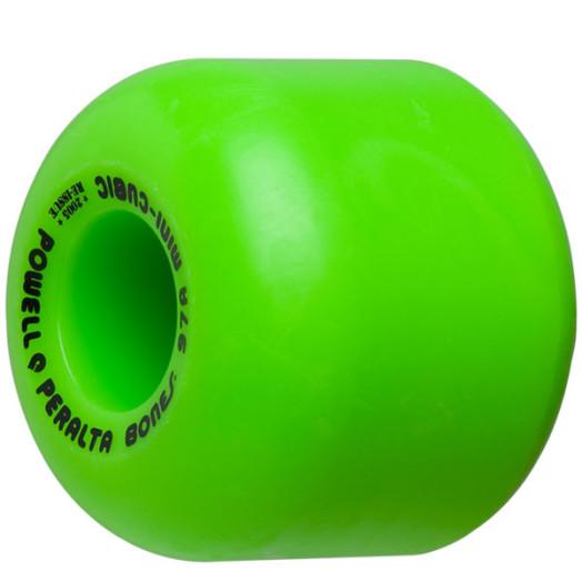 Powell Peralta Mini-Cubic 64mm/97a Green Wheels (4 pack)