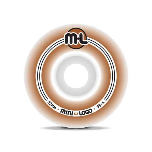 Mini Logo S-2 Wheels 52/99a(4pack)