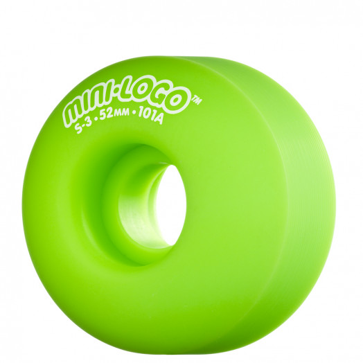 Mini Logo S-3 52mm 101a - Green (4 pack)