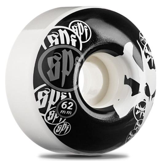 BONES WHEELS Skatepark Formula 62mm White (4 pack)