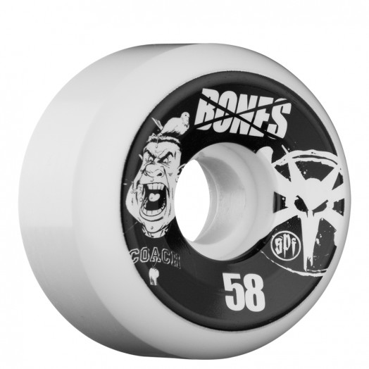 BONES WHEELS SPF Coach 58mm Wheel (4 pack)