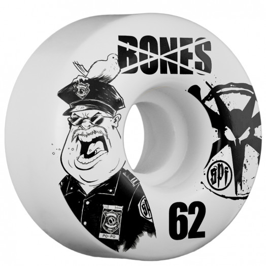 BONES WHEELS SPF Popo 62mm (4 pack)