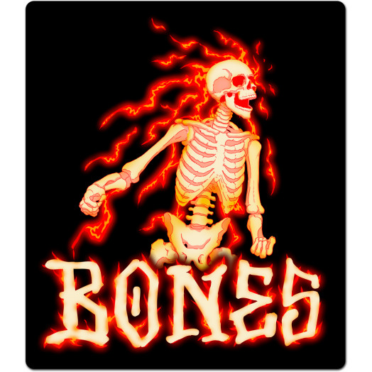 BONES WHEELS Blazer Sticker Single