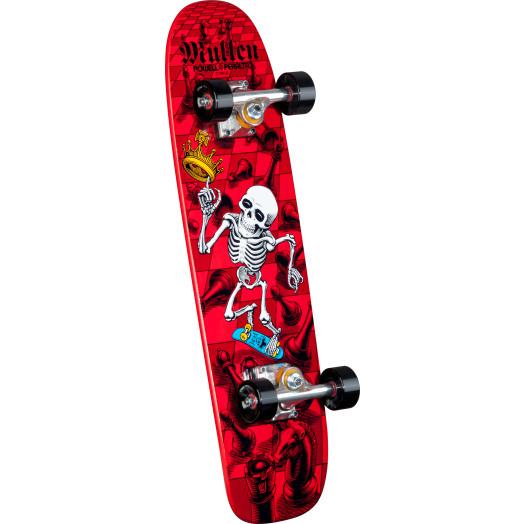 Bones Brigade® Rodney Mullen Chess Reissue Deck Complete Skateboard Red - 7.4 x 27.625