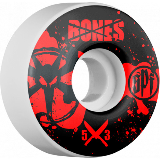 BONES WHEELS SPF Crime Scene 53mm wheels 4pk