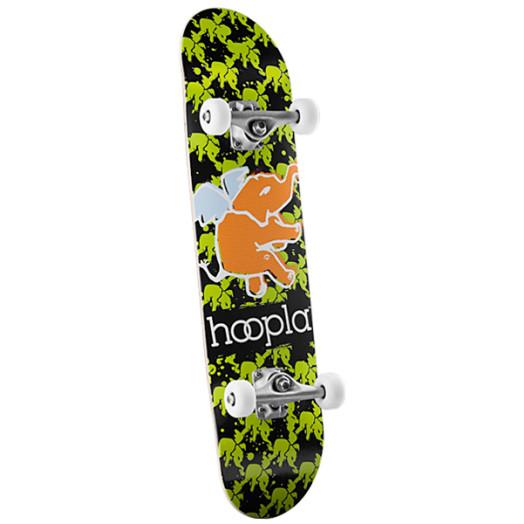 hoopla multi elephant Complete Skateboard - 7.625 x 31.625