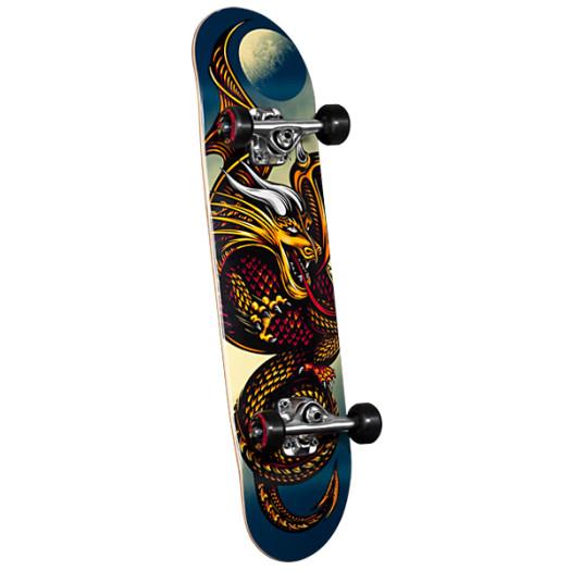 Powell Golden Dragon Knight Dragon Complete Skateboard - 7.5 x 28.65
