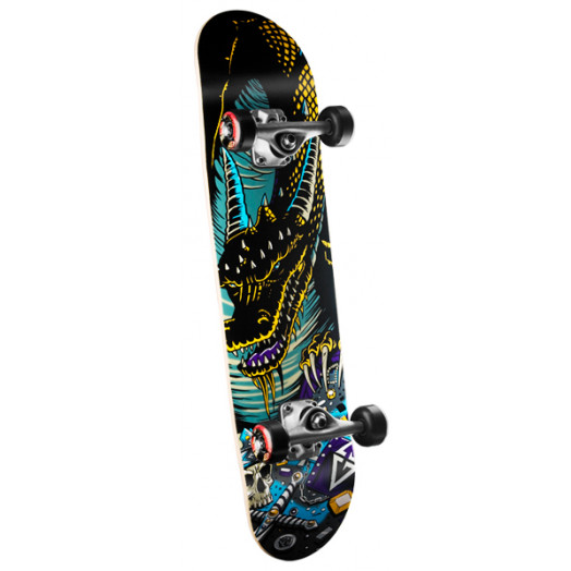Powell Golden Dragon Lair Dragon Complete Skateboard - 7.5 x 28.65