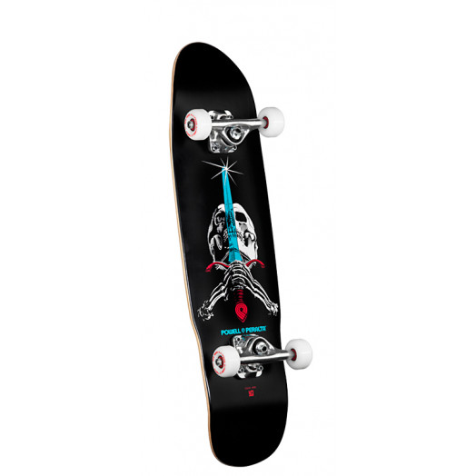 Powell Peralta Mini Skull & Sword Complete Skateboard - 8 x 29.5