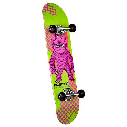 Positiv Sandro Dias Monster Series Complete Skateboard - 7.75 x 31.75