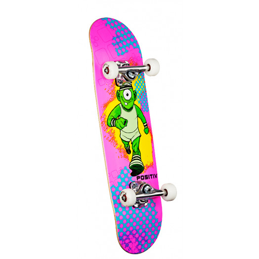 Positiv Team Monster Series Complete Skateboard - 7.5 x 28.65
