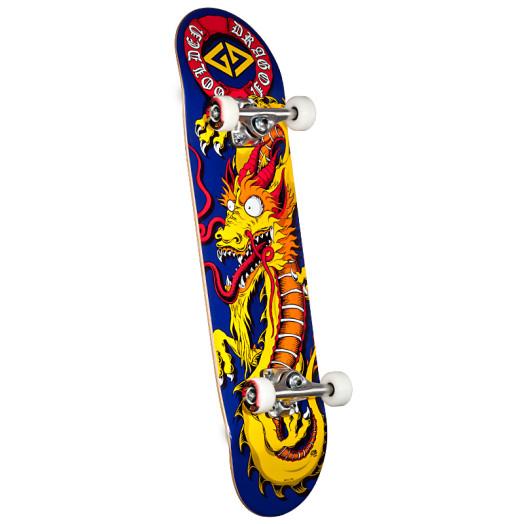 Powell Golden Dragon Cab Art Regular Complete Skateboard - 8 x 32.125