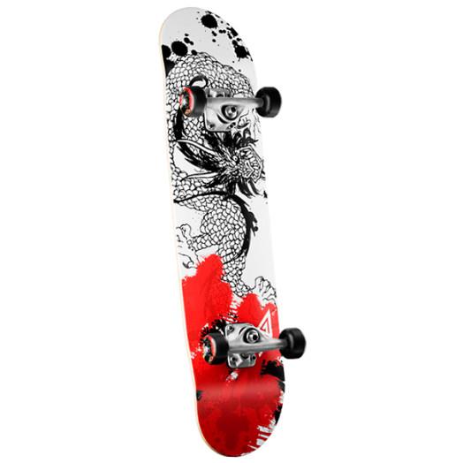 Powell Golden Dragon Samurai Dragon Complete Skateboard - 7.75 x 31.75