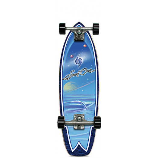 Surf One Galaxy Complete Skateboard - 8.75 x 29.625