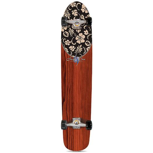 Surf One Luau II Complete Skateboard- 9.25 x 43.75