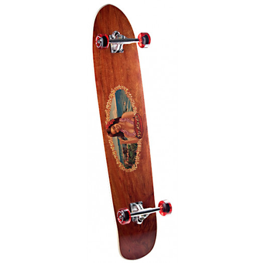 Surf One No Ka Oi Complete Skateboard - 9.25 x 43.75