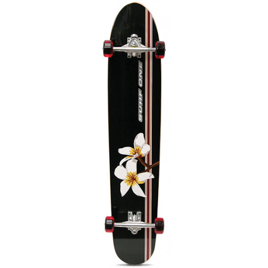 Surf One Plumeria Branch Complete Skateboard - 8.625 x 43.625