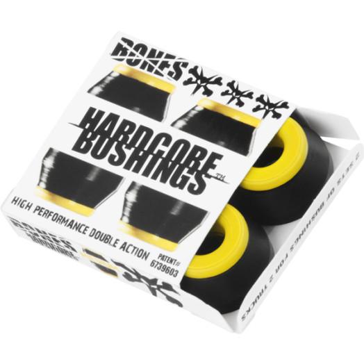 BONES® Hardcore Bushings® - Medium - Black (2 sets)