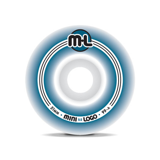 Mini Logo S-2 Wheels 51/99a(4pack)