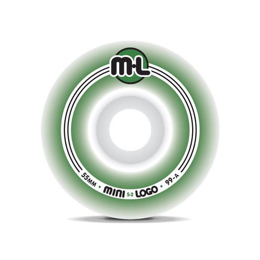 Mini Logo S-2 Wheels 55/99a(4pack)