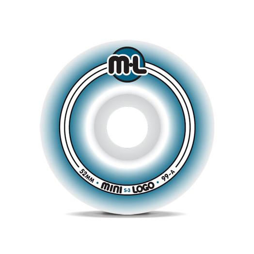 Mini Logo S-3 Wheels 52/99a(4pack)