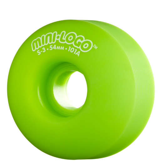 Mini Logo S-3 54mm 101a - Green (4 pack)
