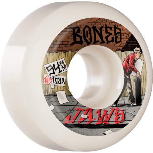 BONES WHEELS PRO STF Skateboard Wheels Homoki Down 4 Life 54mm V5 Sidecut 103A 4pk