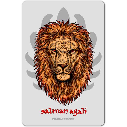 Powell Peralta Salman Agah Lion Sticker (Single)