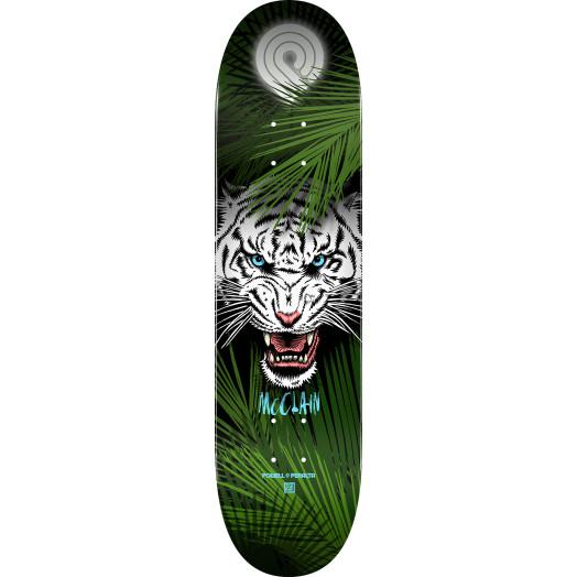 Powell Peralta Pro Brad McClain Tiger 2 Skateboard Deck - Shape 244 K20 - 8.5 x 32.08