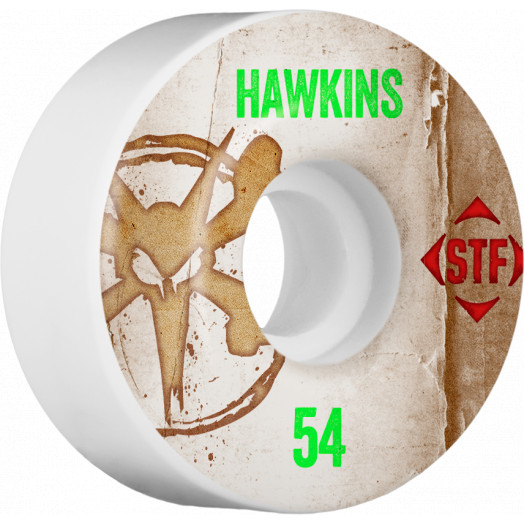 BONES WHEELS STF Pro Hawkins Team Vintage Wheel 54mm 4pk