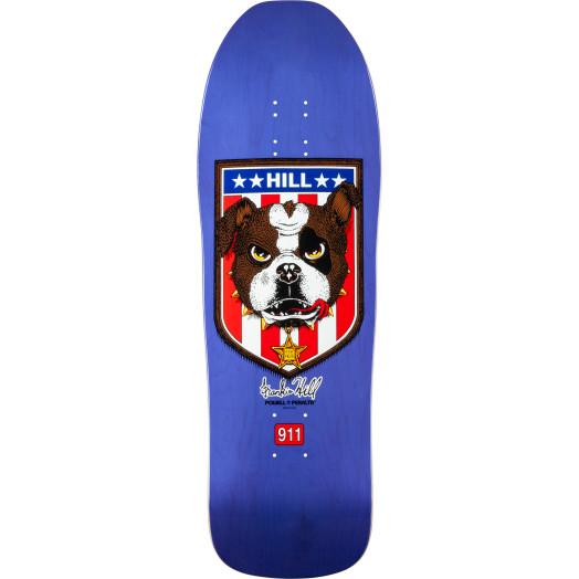 Powell Peralta Frankie Hill Bulldog Skateboard Deck Purple - 10 x 31.5