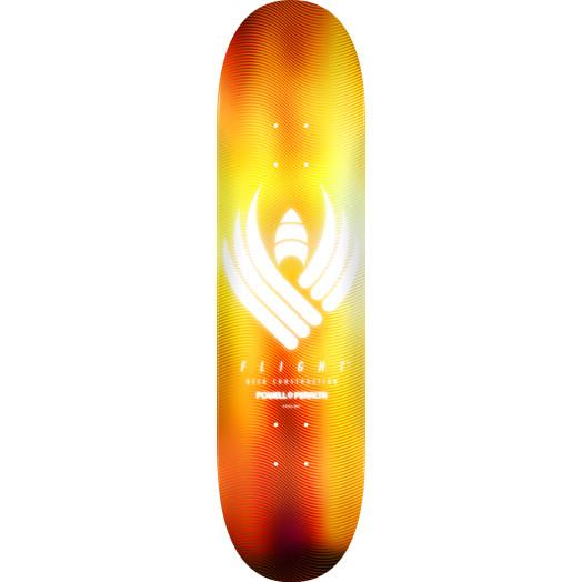 Powell Peralta Flight® Skateboard Deck Glow Gold - Shape 249 - 8.5 x 32.08
