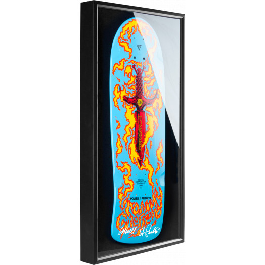 Bones Brigade® Shadowbox Guerrero Skateboard Deck Signed by GAP/Stacy