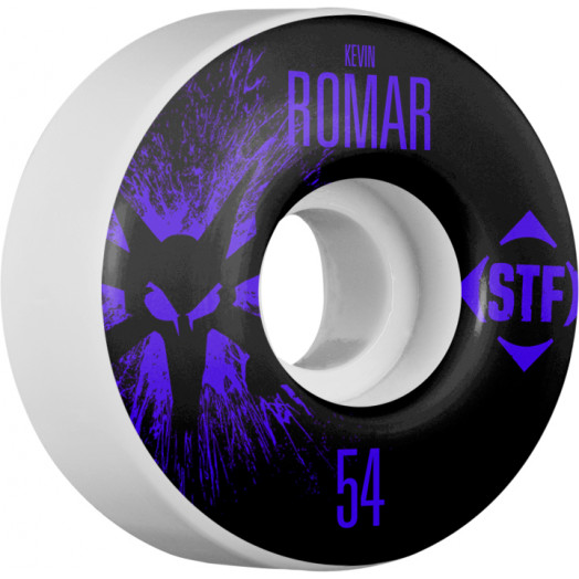BONES WHEELS STF Pro Romar Team Wheel Splat 54mm 4pk