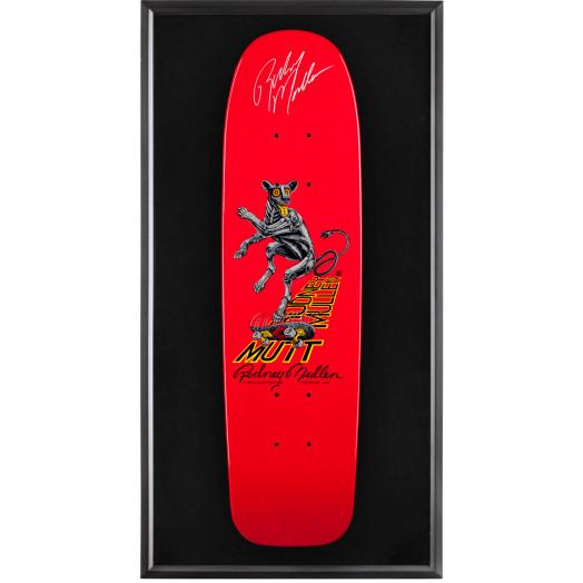 Bones Brigade® Shadowbox Mullen Mutt Blem Skateboard Deck Red - Signed by Rodney