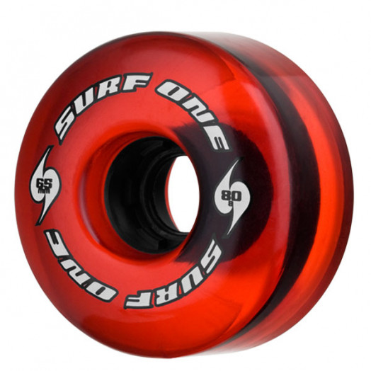 Surf One Red Tide 65mm 80a Core (Single)