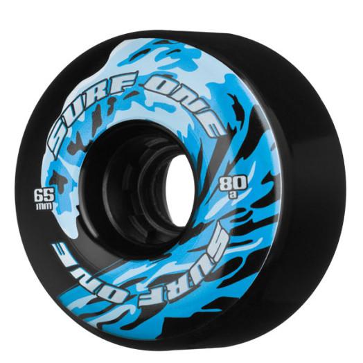 Surf One Wave Black 65/80a Core Wheels(each)