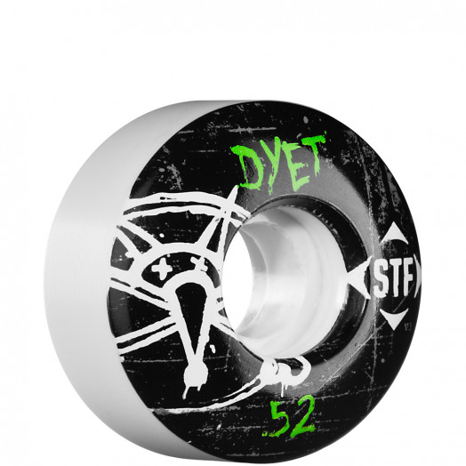BONES WHEELS STF Pro Dyet Oh Gee 52mm (4 pack)