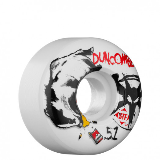 BONES WHEELS STF Pro Duncombe Badger 51mm Wheel (4 pack)