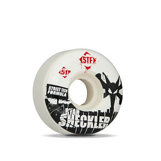 BONES WHEELS Pro Sheckler 51mm Street Tech Formula(4pack)