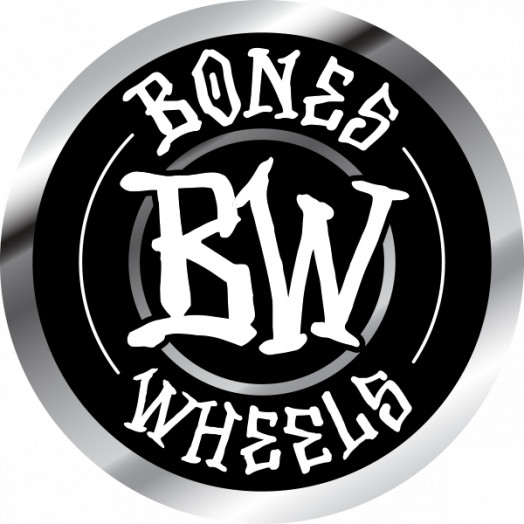 "BONES WHEELS Branded 2"" Sticker 20 pack"