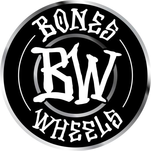 "BONES WHEELS Branded 4"" Sticker 20 pack"