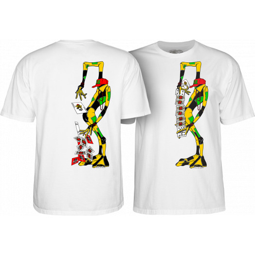 Powell Peralta Ray Barbee Rag Doll T-Shirt White