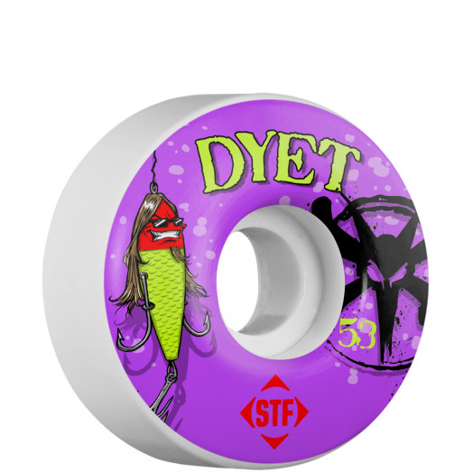 BONES WHEELS STF Pro Dyet Allure 53mm (4 pack)