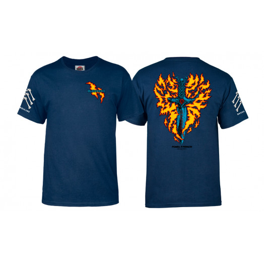 Bones Brigade® Guerrero Dagger T-shirt - Navy