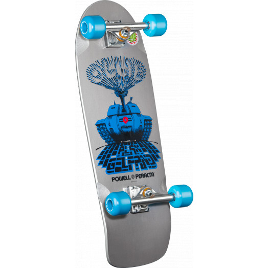 Powell Peralta Alan Gelfand Silver Ollie Tank Complete - 10 x 30