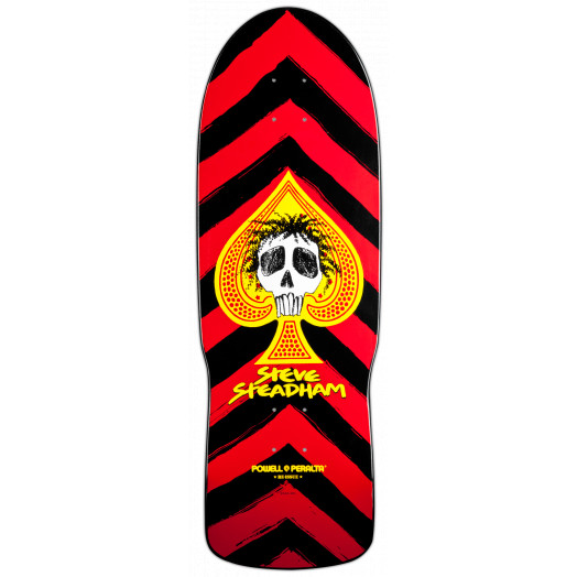 Powell Peralta Steadham Spade Deck Red - 10 x 30.125