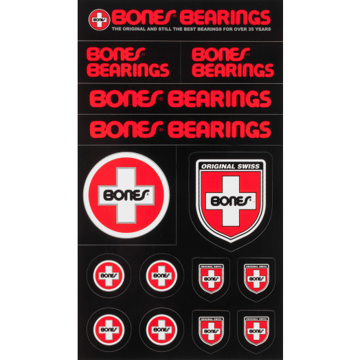 Bones Bearings Swiss Multi Sticker Single