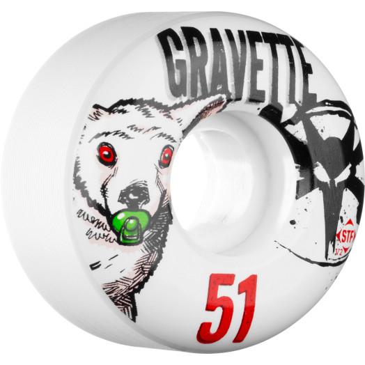 BONES WHEELS STF Pro Gravette Pacifier 51mm 4pk