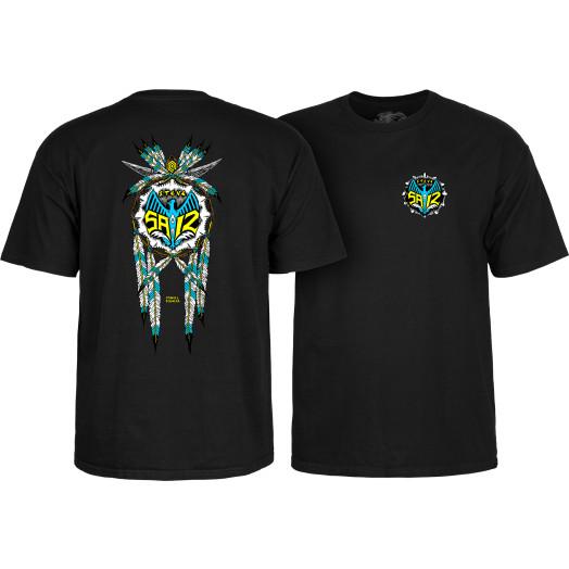 Powell Peralta Steve Saiz Totem T-Shirt Black